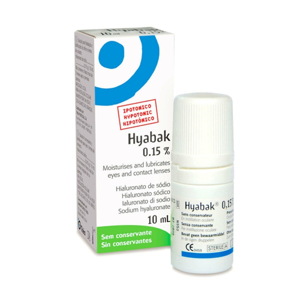 Soothing Hyabak Eye Drops - mEYEspa #1 Seller